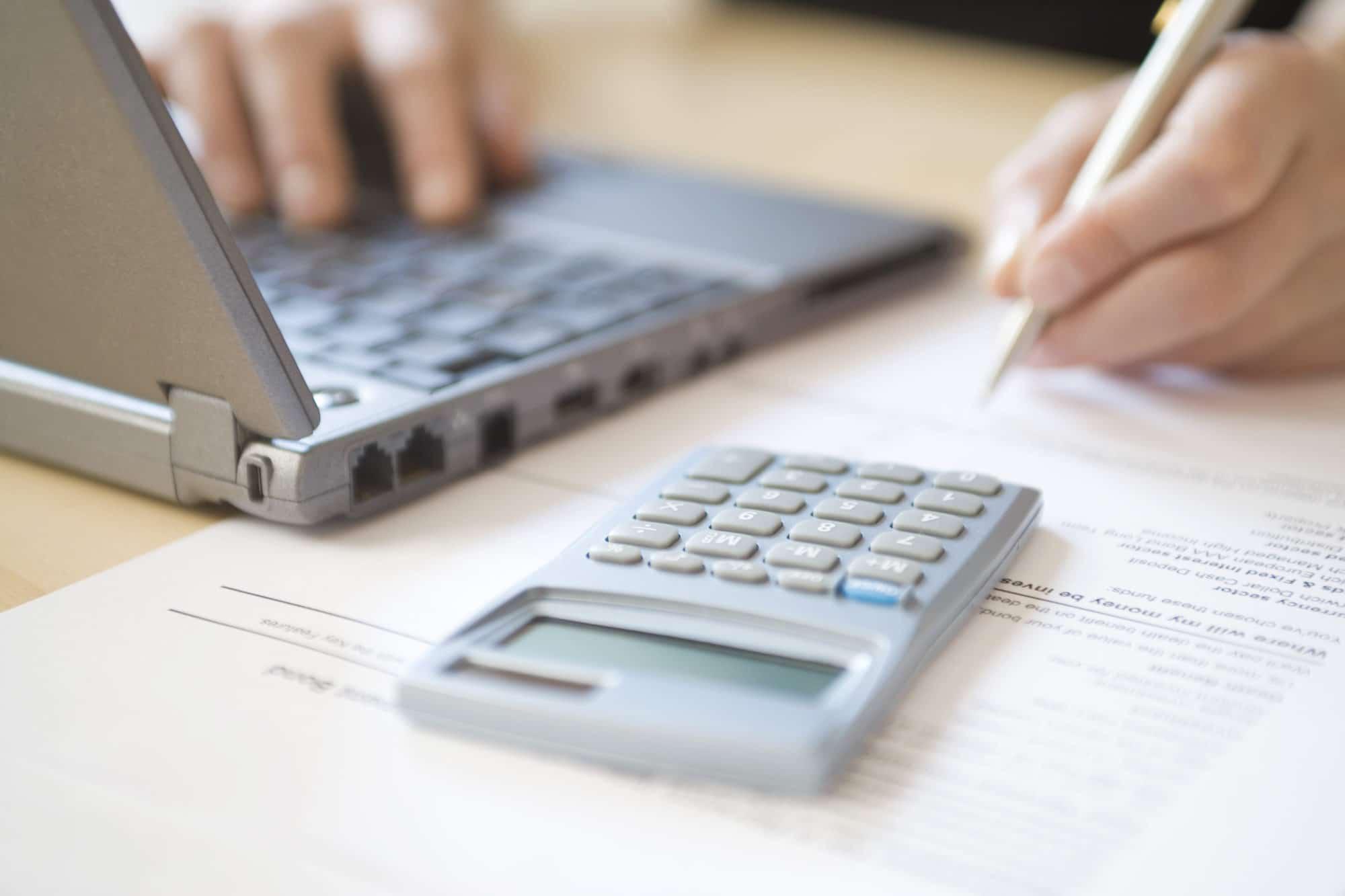 calcul des impôts