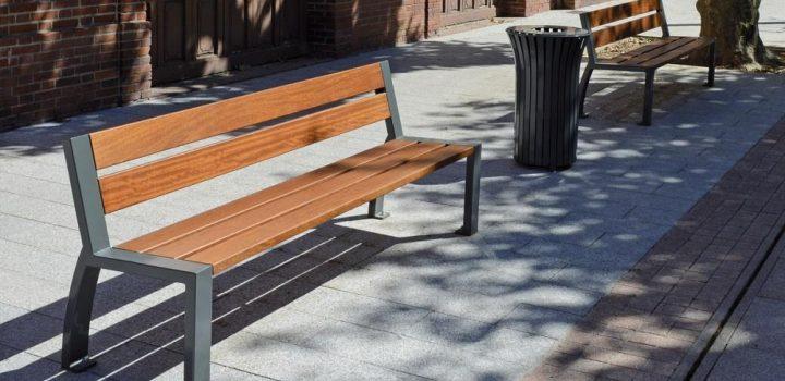banc mobilier urbain